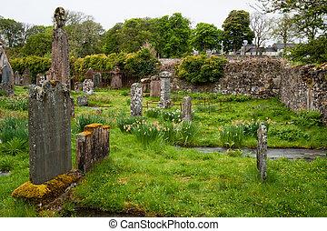 Islay cemetery - Cemetery on the isle of Islay