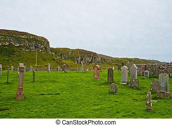 Islay cemetery - Cemetery on the Scottish Isle of Islay