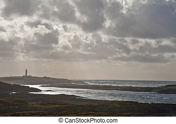 Islay coast - Rocky coastline of Islay, Scotland