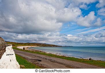 Islay landscape - View of Islay coastline