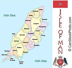 Isle of Man administrative divisi