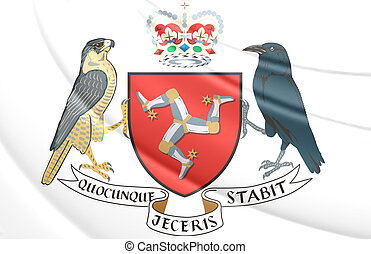 Isle of Man Coat of Arms