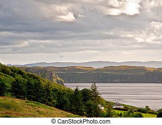Isle of Skye coastline
