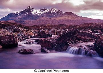 Isle of Skye Mountains Scotland