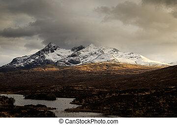 isle of Skye - the Scottish Highlands, Isle of Skye,...