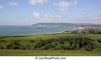 Isle of Wight coast view Shanklin - Isle of Wight coast view...