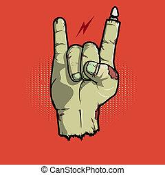 isn't, muerto, roca