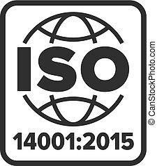 iso, シンボル, 14001:2015, 証明される