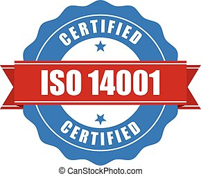 ISO 14001 certified stamp