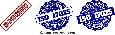 ISO 17025 CERTIFIED Scratched Stamp Seals
