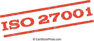 ISO 27001 Watermark Stamp