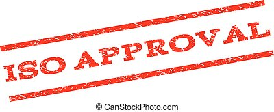 ISO Approval Watermark Stamp
