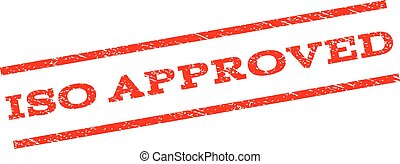 ISO Approved Watermark Stamp
