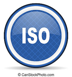 iso blue icon