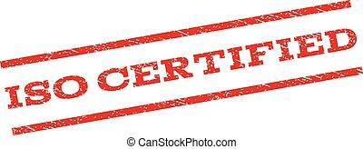 ISO Certified Watermark Stamp