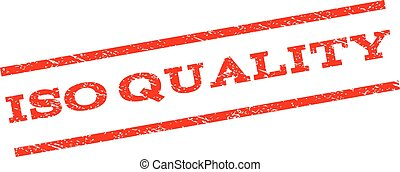ISO Quality Watermark Stamp