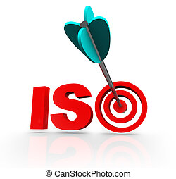 ISO Word Acroynm Target Arrow Certified Company