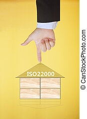 iso22000, specifying, helyett, táplálék biztonság, vezetőség