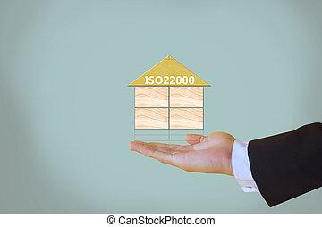 iso22000, specifying, pour, sûreté nourriture, gestion
