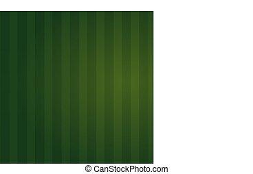 isolé, champ, arrière-plan vert, illusion, mieux