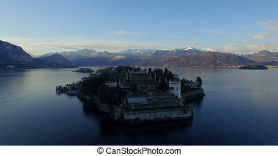 Isola Bella on Lago Maggiore lake