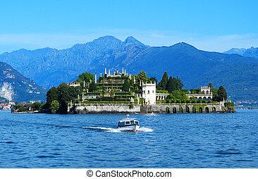 Isola Bella on The Lago Maggiore in Italy