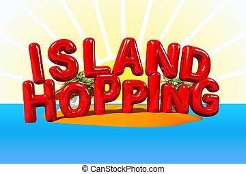 isola, lettere, luppolizzazione, grande