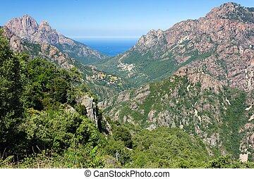isola, paesaggio,  Corsica