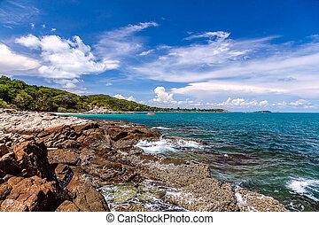 isola, samet, koh, tailandia