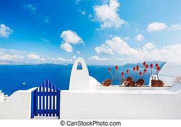isola santorini, grecia