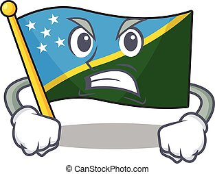 isola solomon, bandiera, 67
