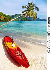 isola tropicale, kood, spiaggia, tailandia