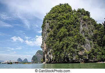 isola tropicale, tailandia