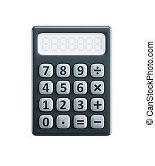 isolado, calculadora