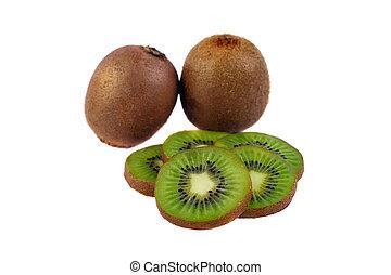 isolado, kiwi