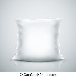 isolado, travesseiro
