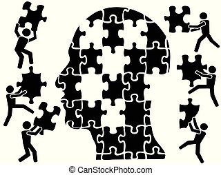 teamworks in head puzzle