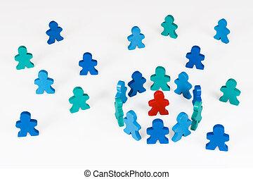 isolamento, ou, segregação