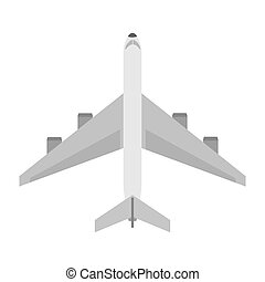 Isolated airplane design