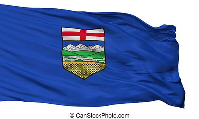 Isolated Alberta city flag, Canada - Alberta flag, city of...