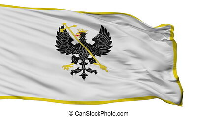 Isolated Alex K Chernihiv prapor city flag, Ukraine - Alex K...
