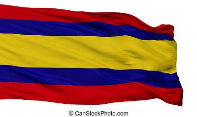 Isolated Alor Setar Kedah city flag, Malaysia - Alor Setar...