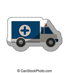 Isolated ambulance design