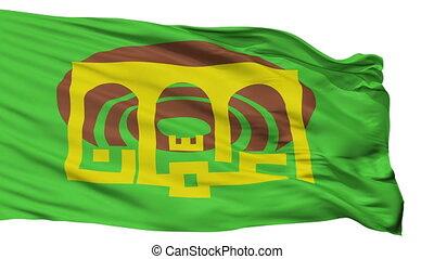 Isolated Amman city flag, Jordan - Amman flag, city of...