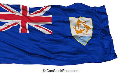 Isolated Anguilla Flag