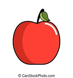 Isolated apple icon