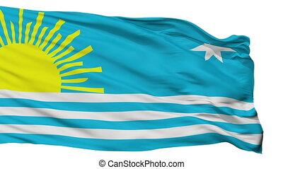 Isolated Araure city flag, Venezuela - Araure flag, city of...