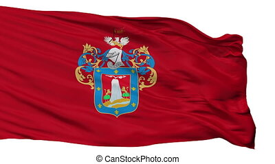 Isolated Arequipa city flag, Peru - Arequipa flag, city of...