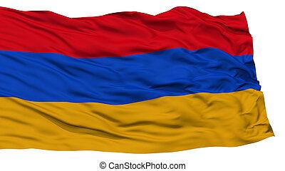 Isolated Armenia Flag