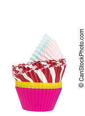 assorted cupcake cups